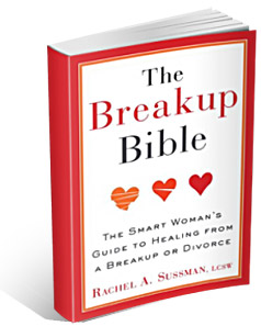 The Breakup Bible | Book on Breakups / Divorce by Rachel A Sussman NYC